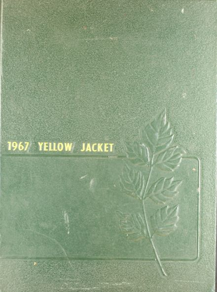1967 Arlington Heights High School Yearbook Cover