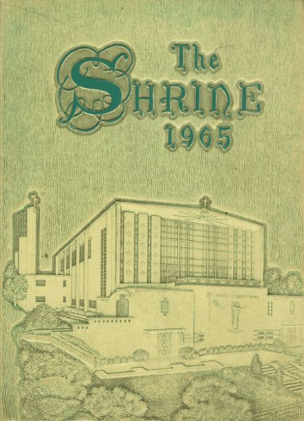 1965 Mother Cabrini High School Yearbook Cover