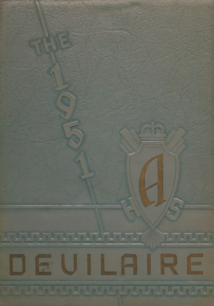 1951 Laura Conner High School Yearbook Cover
