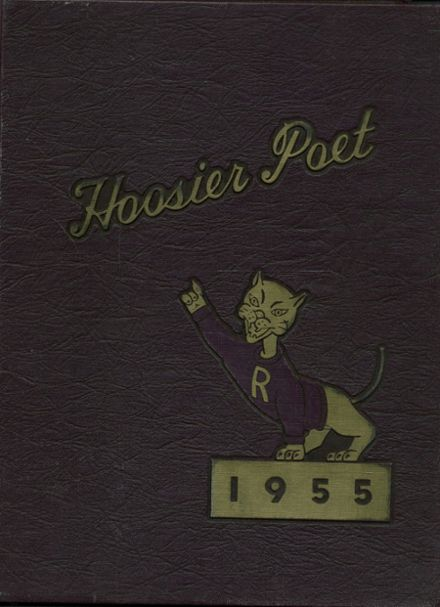 1955 James Whitcomb Riley High School Yearbook Cover