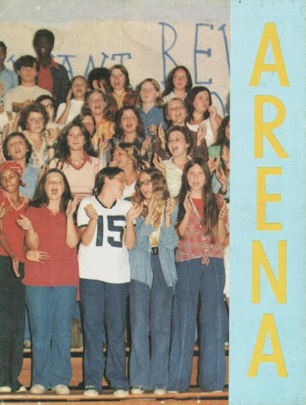 1976 East Rome High School Yearbook Cover