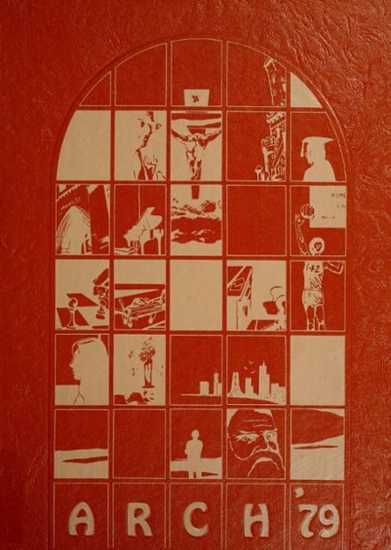 1979 Moody Bible Academy Yearbook Cover