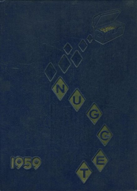 1959 Butler High School Yearbook Cover