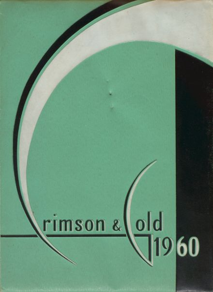 1960 Colton High School Yearbook Cover