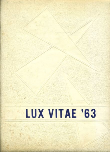 1963 French Camp Academy Yearbook Cover