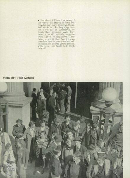 1936 South Side High School Yearbook Page 8