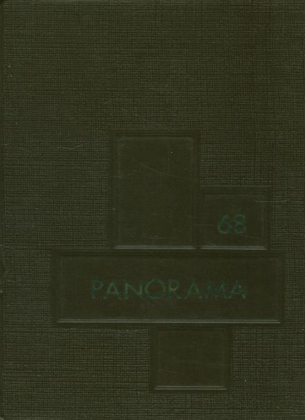 1968 Clarion-Limestone High School Yearbook Cover