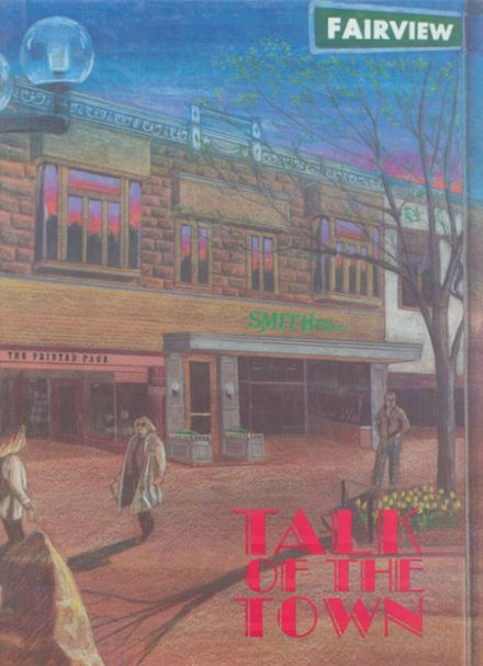 1992 Fairview High School Yearbook Cover