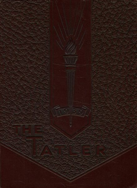 1939 Alton High School Yearbook Cover