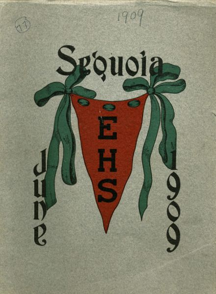 1909 Eureka High School Yearbook Cover