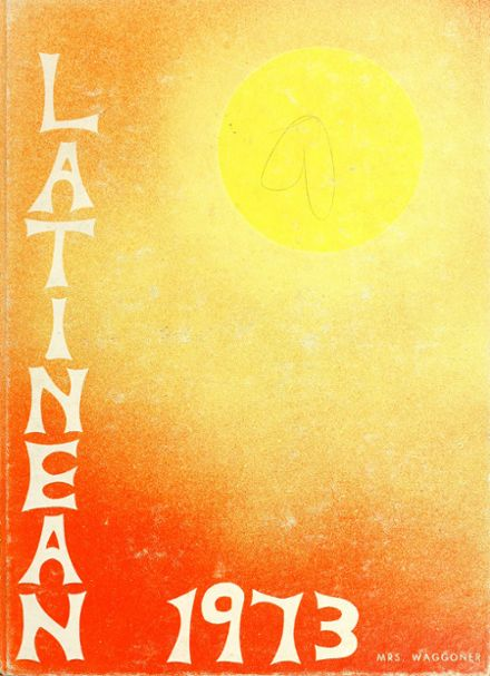 1973 Latin High School Yearbook Cover