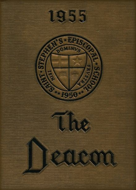 1955 St. Stephen's Episcopal High School Yearbook Cover