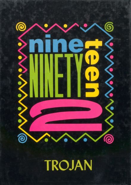 1992 Canute High School Yearbook Cover