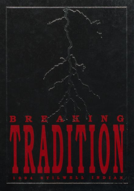 1994 Stilwell High School Yearbook Cover
