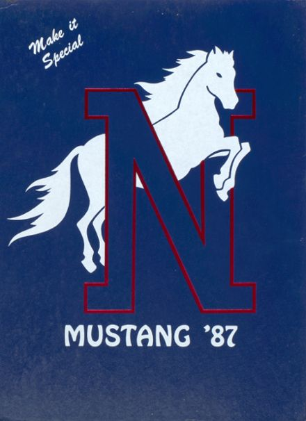 1987 North High School Yearbook Cover