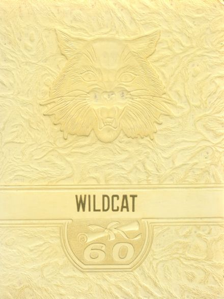 1960 Isabel High School Yearbook Cover