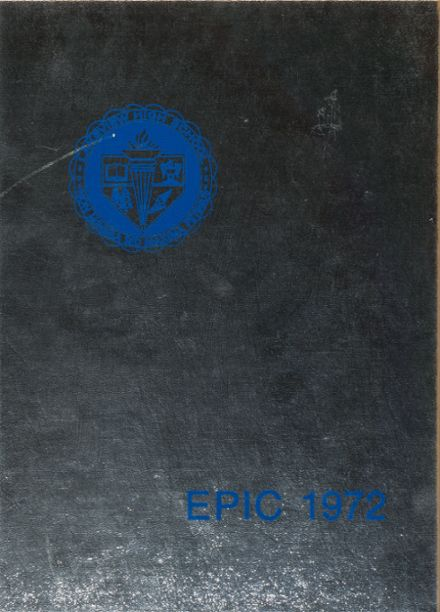 1972 Lakeview High School Yearbook Cover