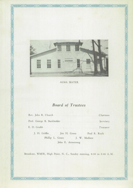 1940 People's Bible School Yearbook Page 7