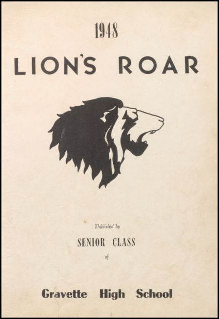 1948 Gravette High School Yearbook Page 7