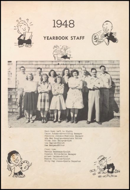 1948 Gravette High School Yearbook Page 9