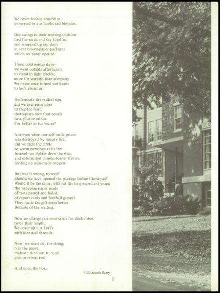 1969 Belmont High School Yearbook Page 6