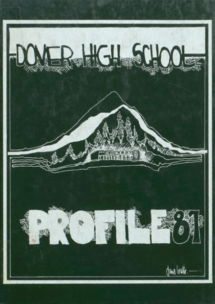 1981 Dover High School Yearbook Cover