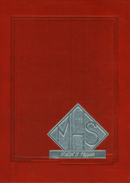 1988 Mcpherson High School Yearbook Cover