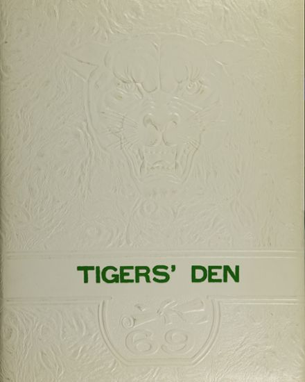 1969 Greenup Independent High School Yearbook Cover
