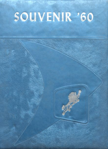 1960 Vinton High School Yearbook Cover