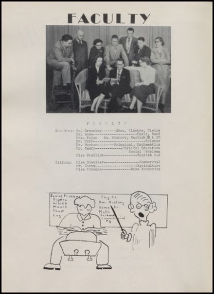 1952 Rib Lake High School Yearbook Page 6