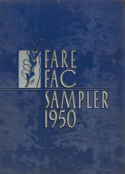 1950 Fairfax High School Yearbook Cover