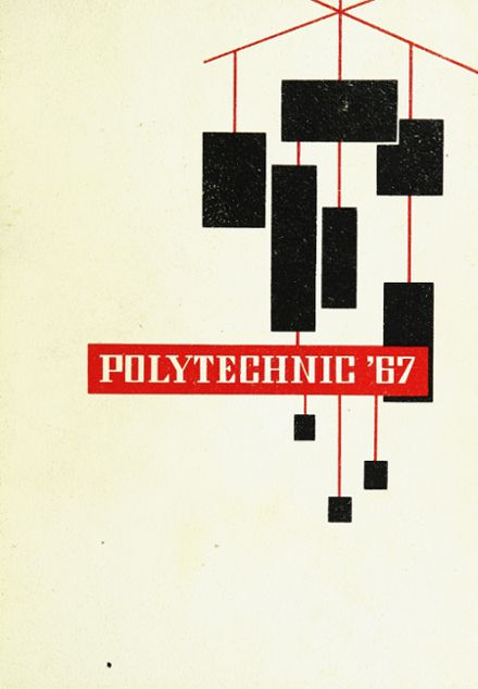1967 Polytechnic High School Yearbook Cover
