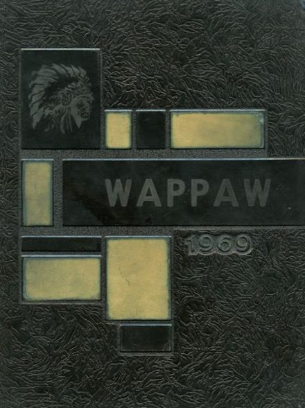 1969 Paw Paw High School Yearbook Cover