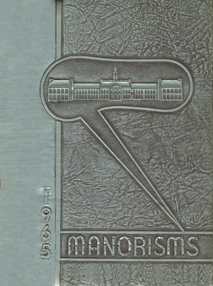 1965 Livingston Manor Central School Yearbook Cover