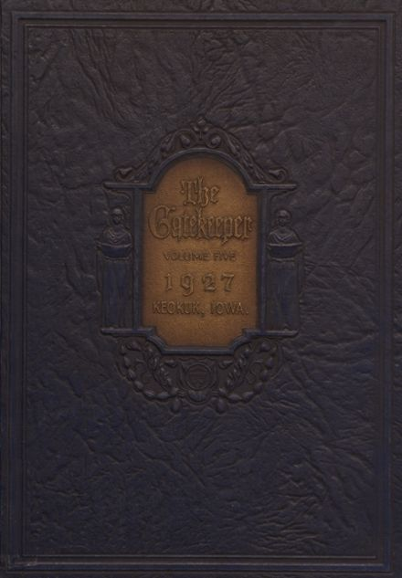 1927 St. Peter's High School Yearbook Cover