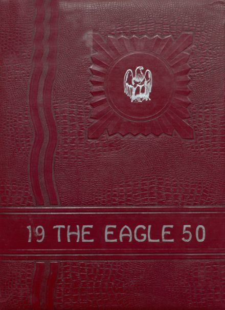 1950 Coldspring High School Yearbook Cover