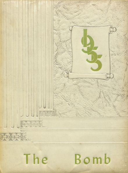 1955 Ballard Memorial High School Yearbook Cover