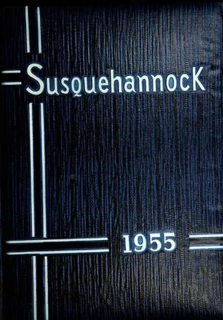 1955 Columbia High School Yearbook Cover