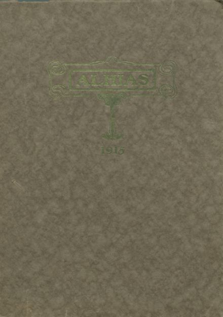 1915 Central High School Yearbook Cover