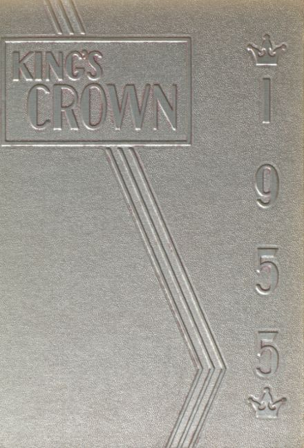 1955 Rufus King High School Yearbook Cover