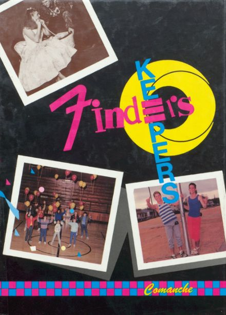 1989 West Texas High School Yearbook Page 1