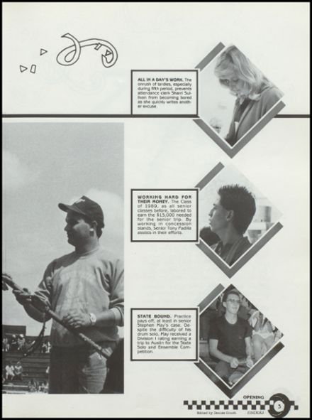 1989 West Texas High School Yearbook Page 7