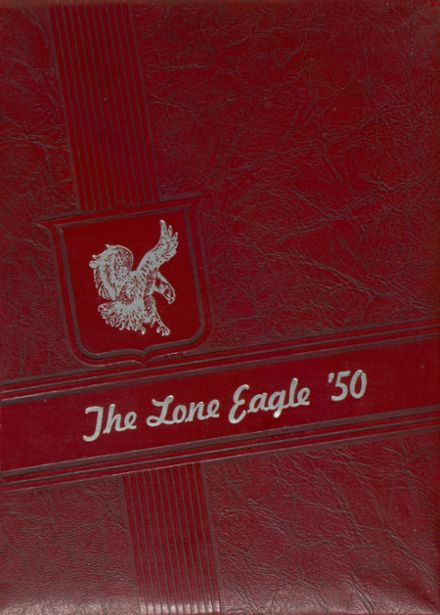1950 Eagleville High School Yearbook Cover