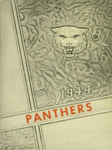 1944 Alma High School Yearbook Cover