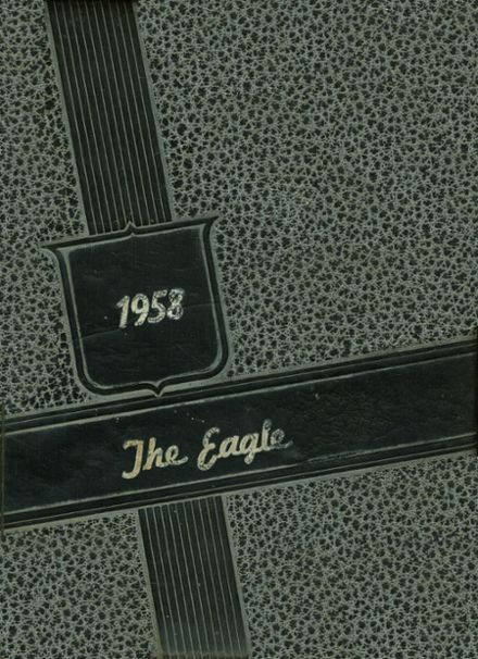 1958 Grant High School Yearbook Cover