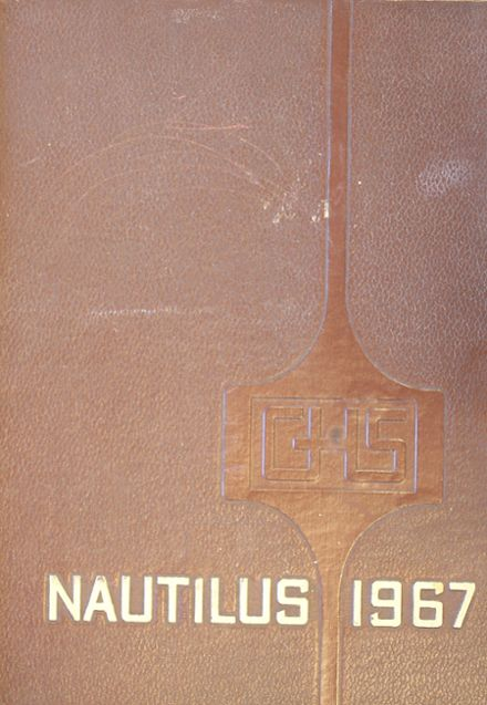 1967 Greenville High School Yearbook Cover