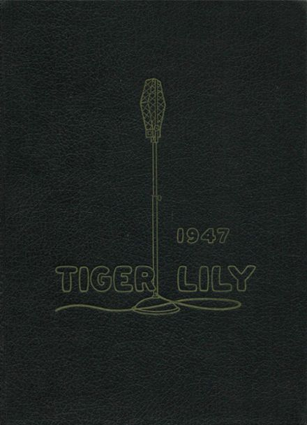 1947 Port Allegany High School Yearbook Cover