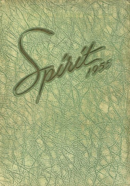 1955 Ames High School Yearbook Cover