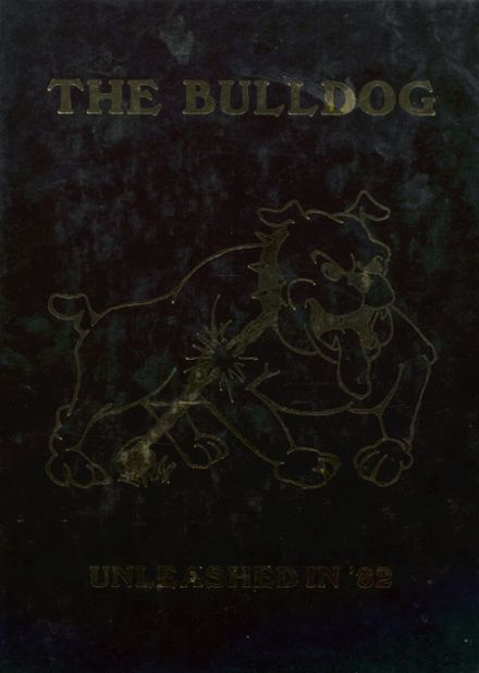 1982 Maysville High School Yearbook Cover
