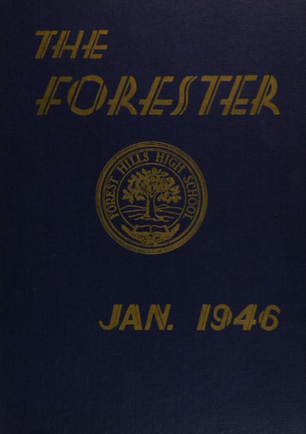 1946 Forest Hills High School Yearbook Cover